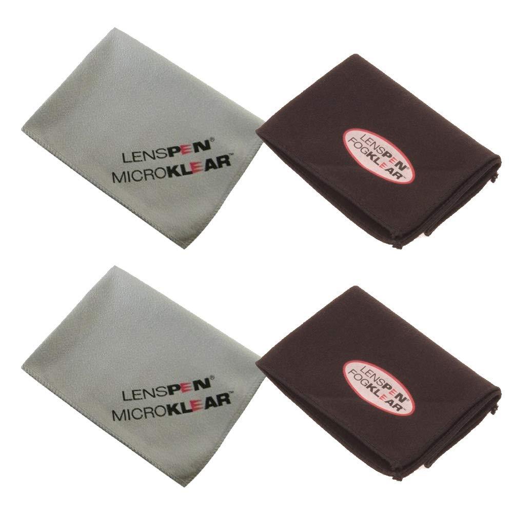 Lenspen MicroKlear and LensPen FK-1 Anti Fog Cleaning Cloth Bundle for Camera