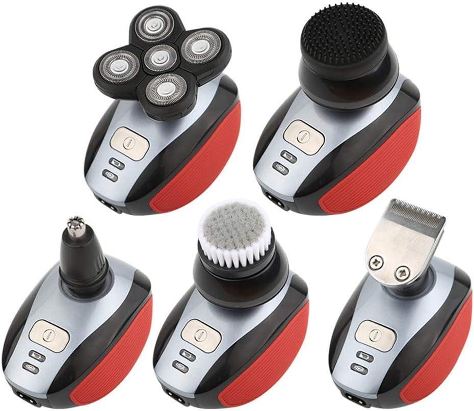 ZZKK 5 Cabeza 4D Electric Men Bald Shaver maquinilla de Afeitar ...
