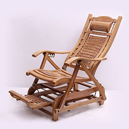 Amazing Amazon Com Rocking Chairs Wssf Comfortable Relax Bamboo Andrewgaddart Wooden Chair Designs For Living Room Andrewgaddartcom