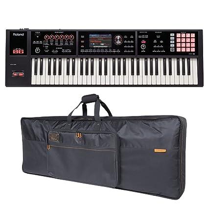 Roland FA-06 61-clave de estación de trabajo musical y teclado de la
