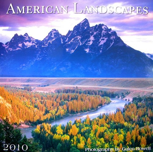 American Landscape 2010 Wall Calendar (Calendar)