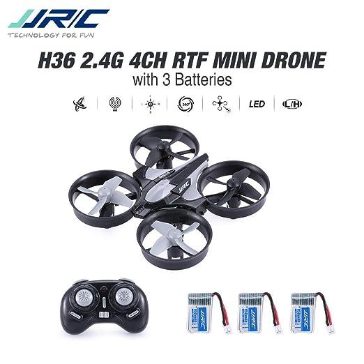 Lorenlli Ajuste JJR/C H36 2.4GHz 4CH 6 Ejes Gyro 3D Flip RTF ...