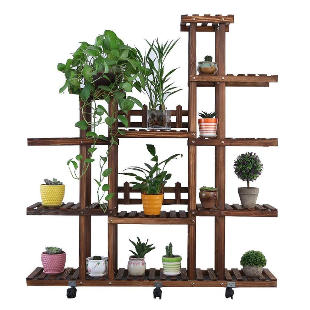 5層フラワースタンド、鉢植えディスプレイスタンド、大型フラワースタンド、家、庭、中庭の装飾に使用 B07QGNHGGB