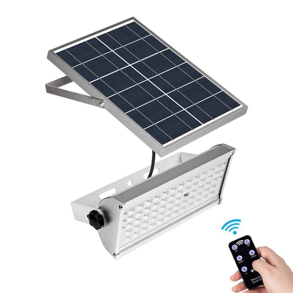 Solarleuchten im Freien 65 LED, 1500 LM Solar-Wandleuchten mit Bewegungssensor Wasserdichte super helle Solarlampen Weitwinkelbeleuchtung mit 2 Modi, kaltweiß