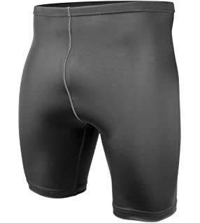 BIG Man Spandex Compression Short - Exercise Workout Shorts Made in USA 035bcf628