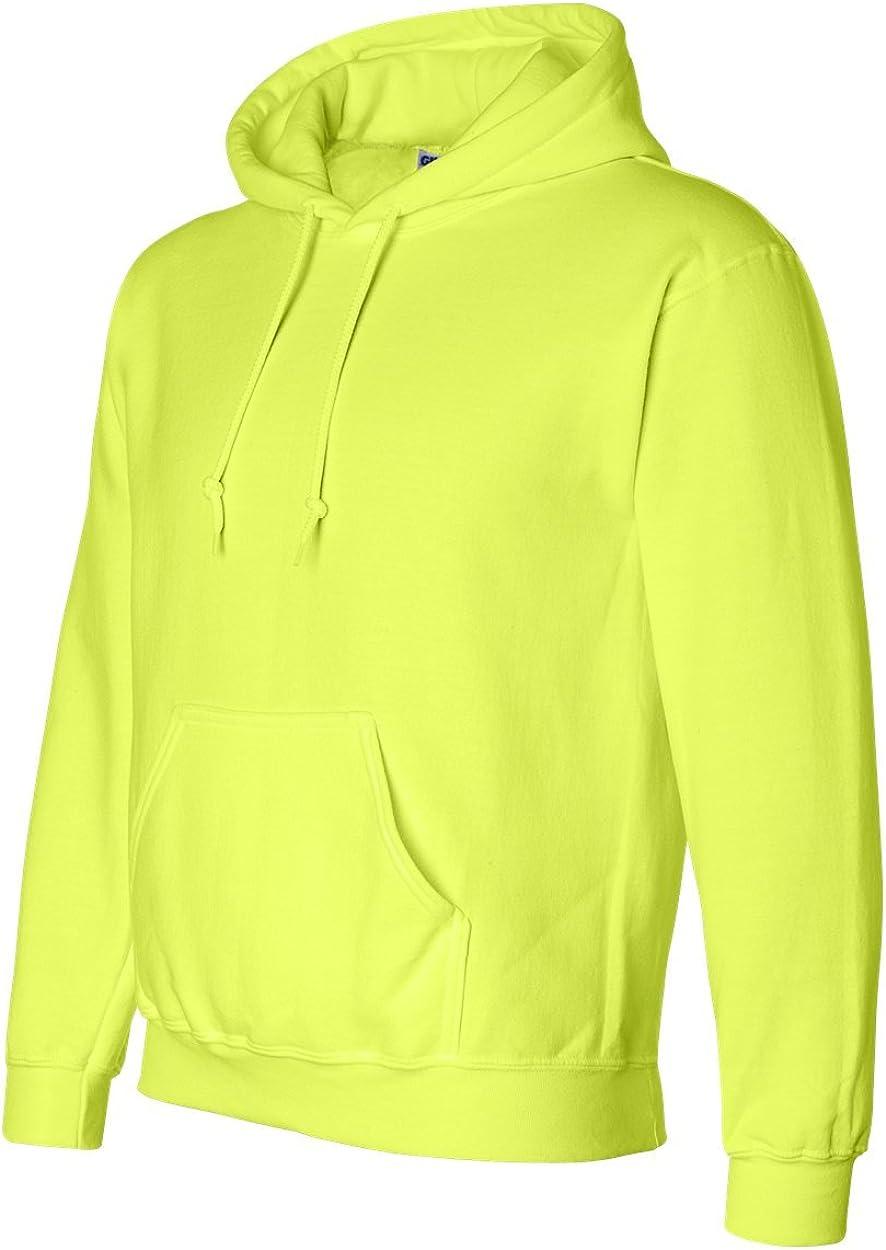 M Safety Green Gildan Ultra Blend Pullover Hooded Sweatshirt