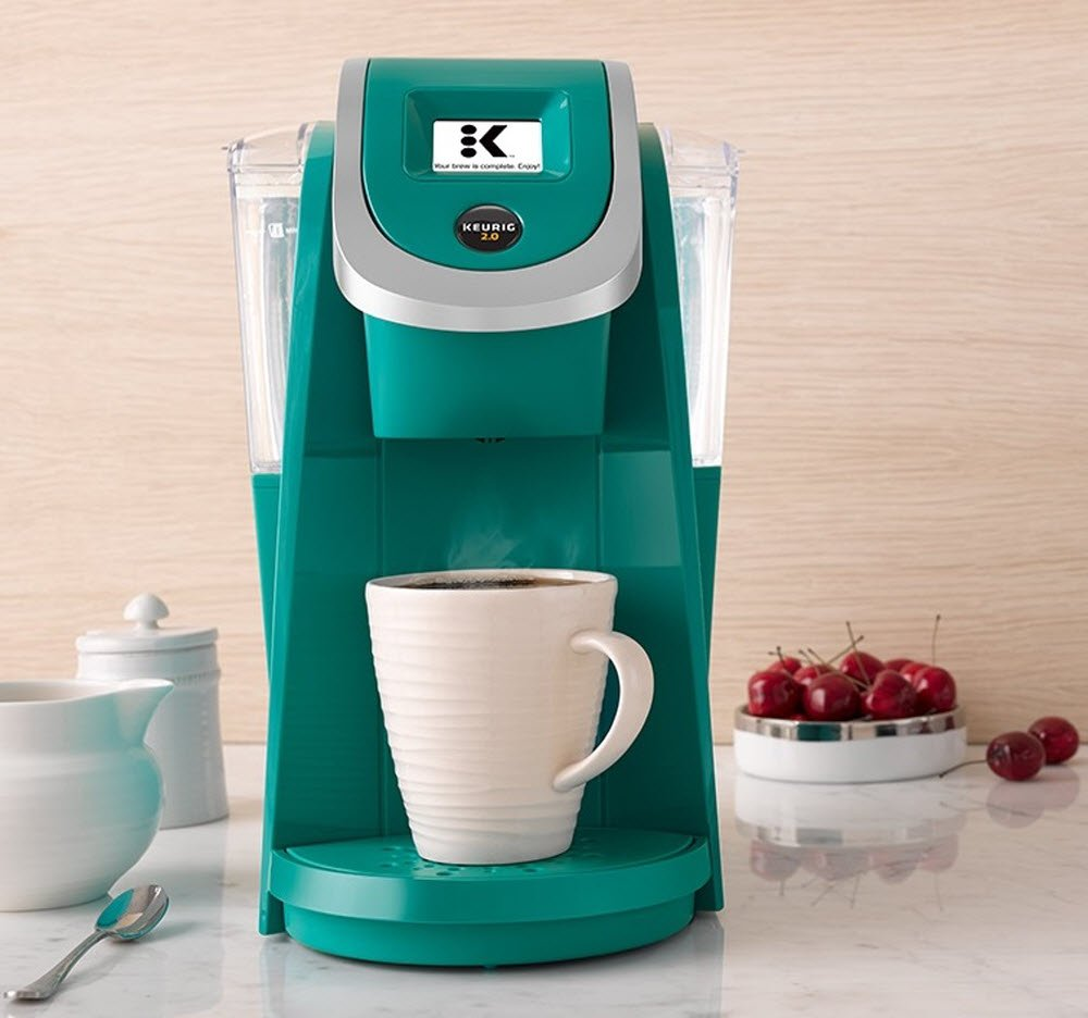 Keurig K250 Single Serve, Programmable K-Cup Pod Coffee Maker with strength control, Turquoise by Keurig (Image #6)