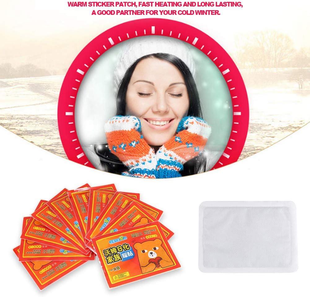Calcomanía cálida, Calentador de cuerpo, Calentador de manos, Parche de calcomanía cálido Alivio del dolor portátil de larga duración Relájese para escalofríos para niña