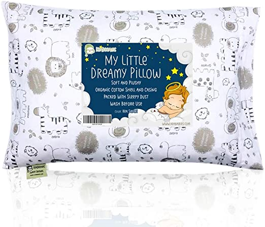 Almohada para niños con funda - Almohada para bebés de algodón ...