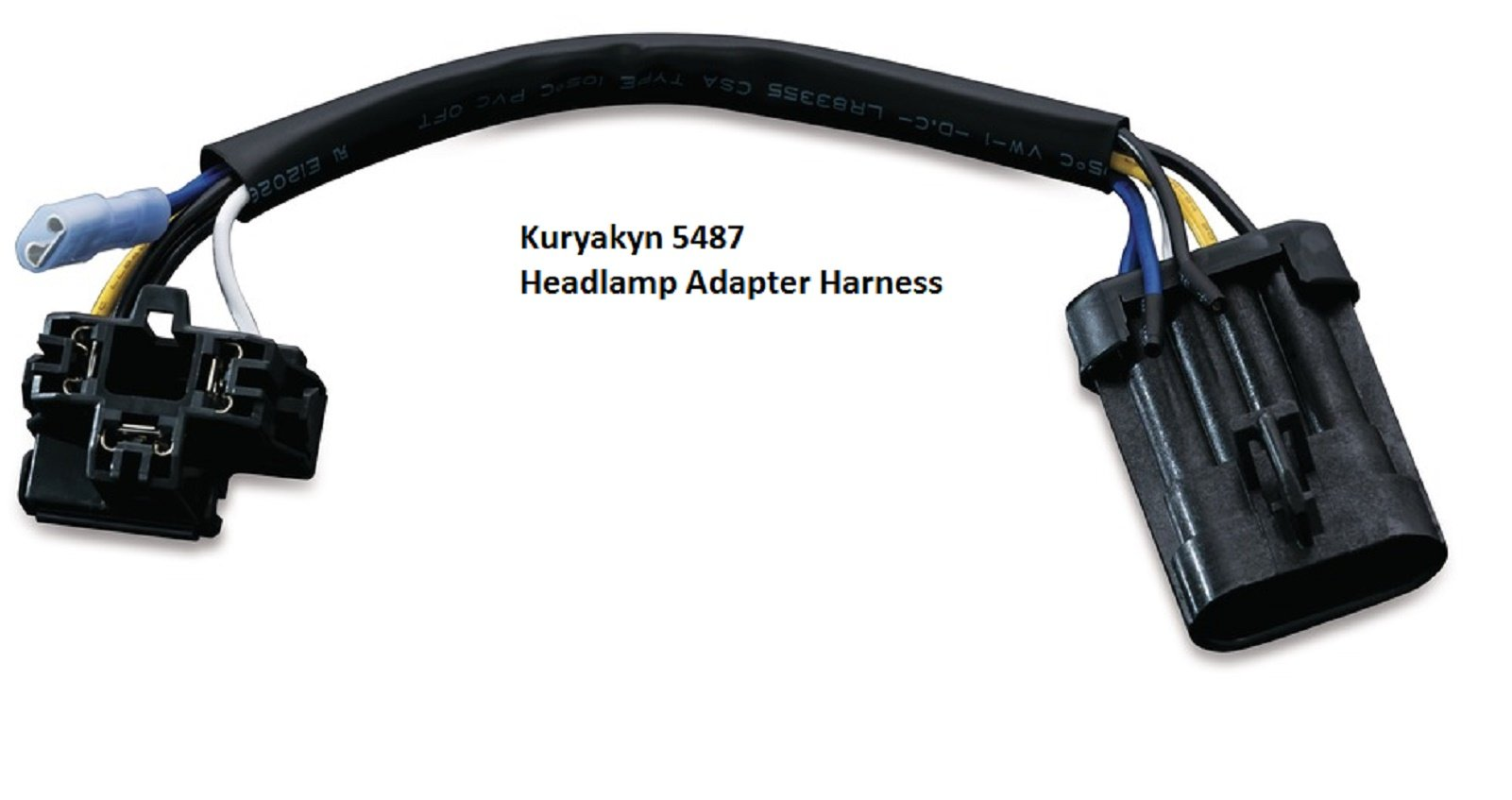 Kuryakyn 5487 Headlamp Adapter Harness
