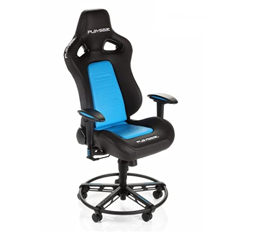 Wondrous Playseat L33T Gaming Chair Blue Ps4 Amazon Co Uk Pc Theyellowbook Wood Chair Design Ideas Theyellowbookinfo