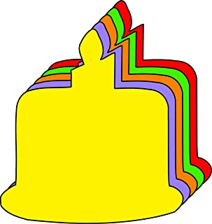 """product image for 3"""" Birthday Cake Assorted Color Creative Cut-Outs, 31 Cut-Outs in a Pack for Birthday Celebrations, Classroom Birthdays, Party Favors, Learning Games, Classroom, Kids' School Craft Projects"""