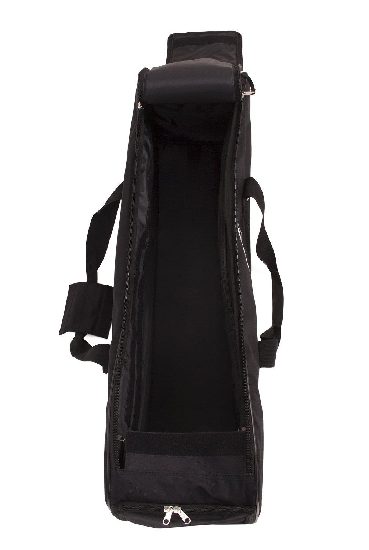 Fovitec - 1x Classic Photography & Video Lighting Equipment Duffle Bag - [35'' x 9'' x 9''][Lightweight][Durable Nylon][Dual Zippers] by Fovitec (Image #4)