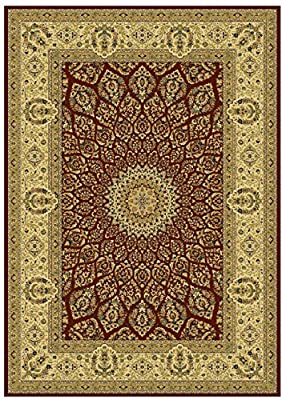 Stunning Silk Persian Style Area Rug Multi-color and Sizes Area Rugs 8x12 and 5x8 Carpet 2x8 and 2x12 Hallway Runners Dining Room Rug Living Room Carpet Luxury Qum Traditional Design Rugs