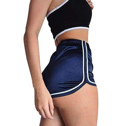Mujer Verano Deportivos Alta Cortos Amlaiworld Leggins Casuales Cintura De Sexy❤️ Pantalones lTFc3KJ1