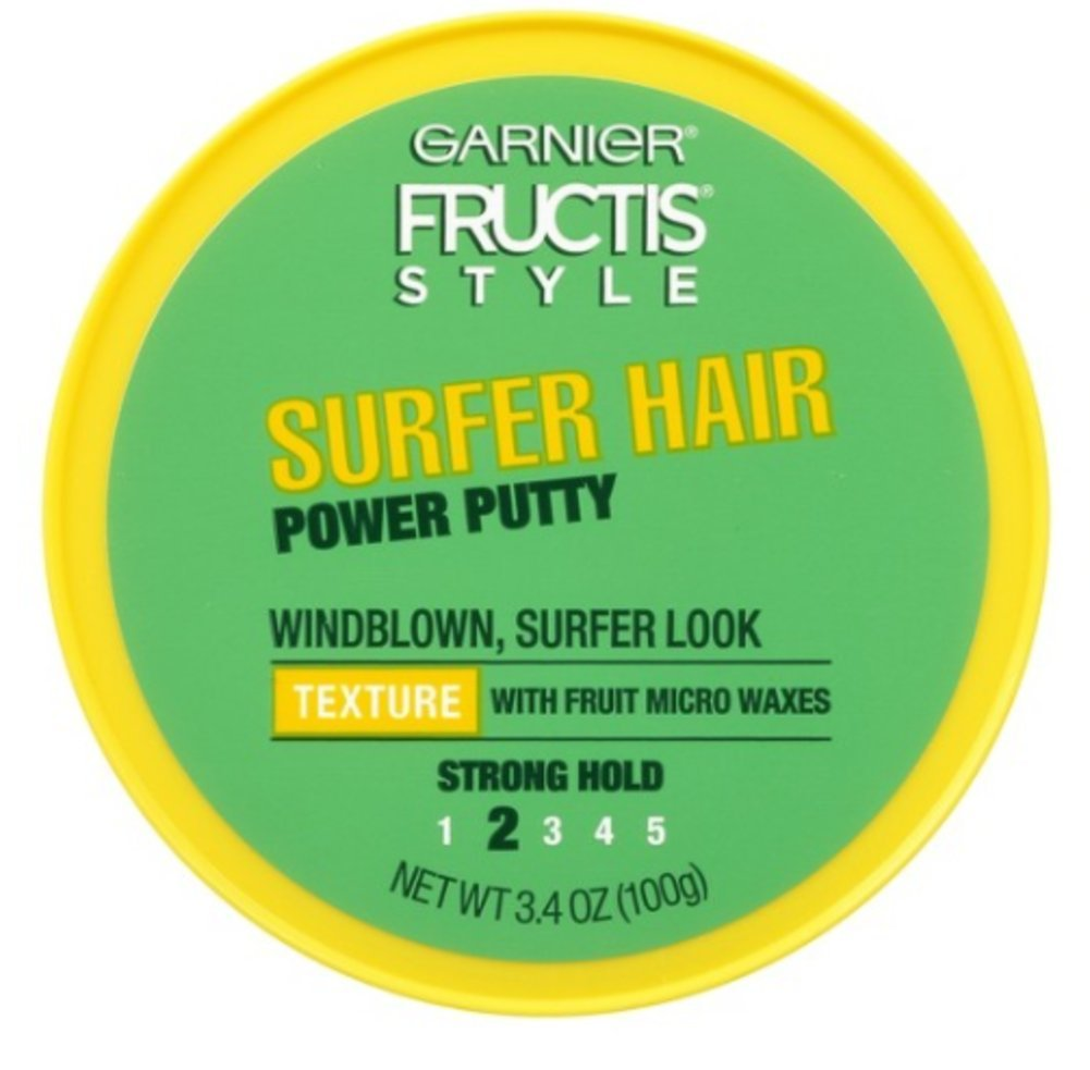 Garnier Fructis Style Surfer Hair Power Putty - Strong Hold #2 (Pack of 2)