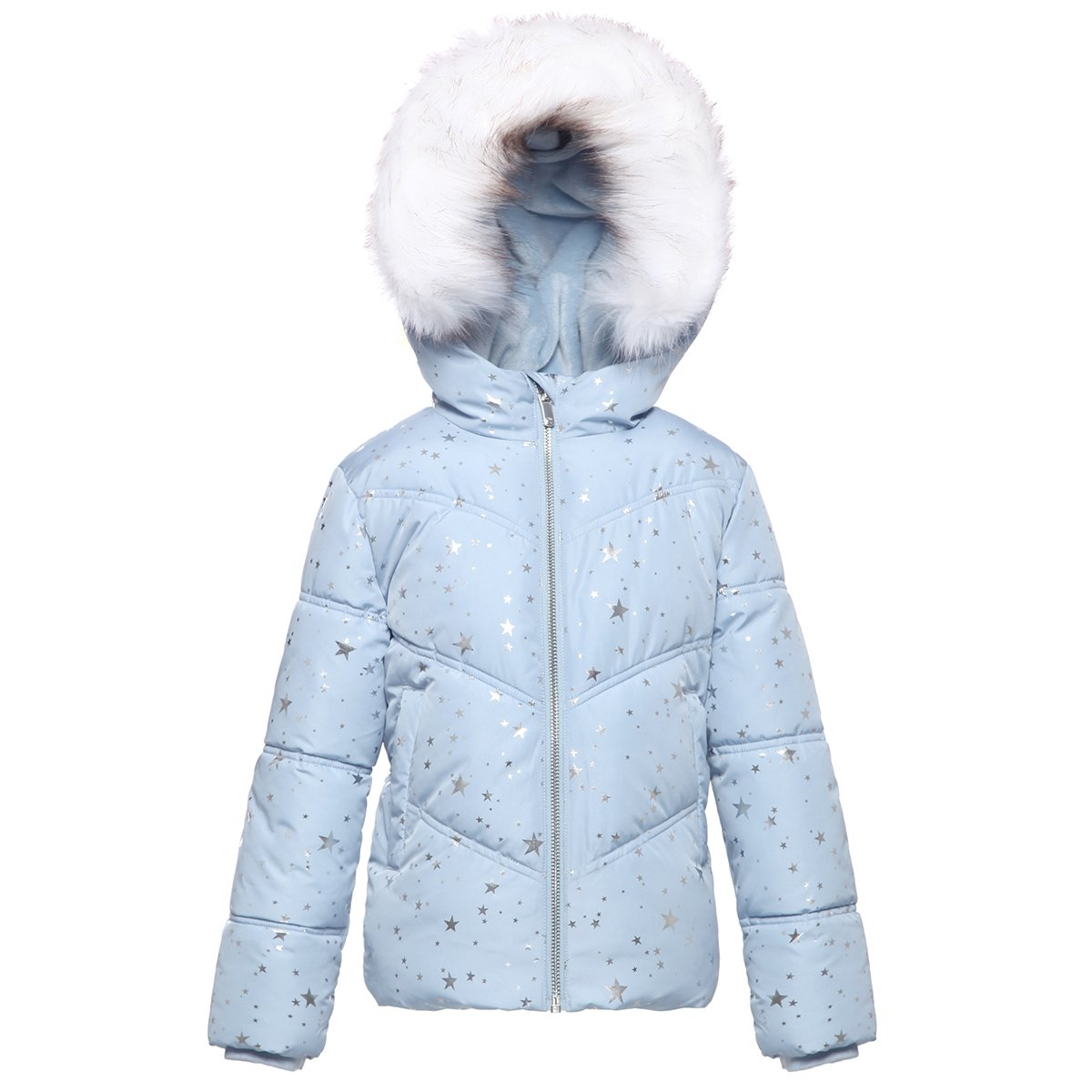 16a205edfa22e Rokka&Rolla Girls' Heavy Padded Water-Resistant Hooded Thickened Quilted  Puffer Jacket product image