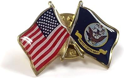 US NAVY MOM UNITED STATES USN LAPEL PIN BADGE 1 INCH