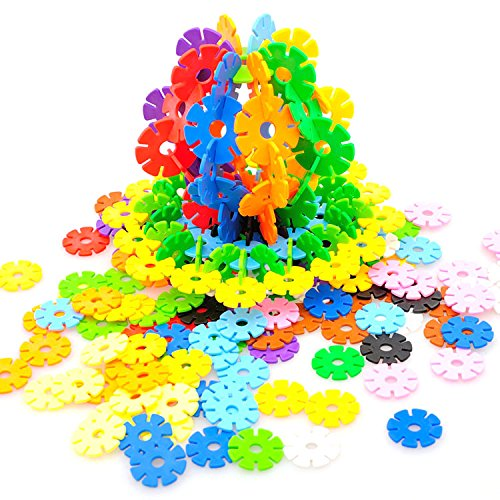 Awesome Flakes 300 Discs Building Set Engineering Toy