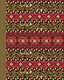 Journal: Tribal Pattern 8x10 - LINED JOURNAL - Journal with lined pages - (Diary, Notebook) (8x10 Patterns & Designs Lined Journal Series)