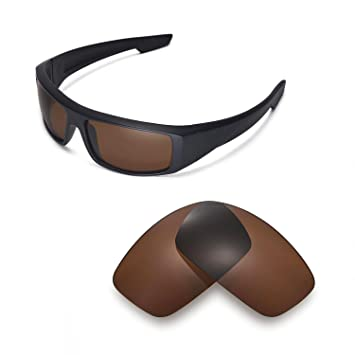 3b083de0845 Walleva Replacement Lenses for Spy Optic Logan Sunglasses - Multiple  Options Available (Brown - Polarized)  Amazon.ca  Sports   Outdoors