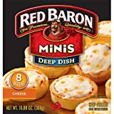 Red Baron Deep Dish Cheese Pizza, 10.88 Ounce - 12 per case.