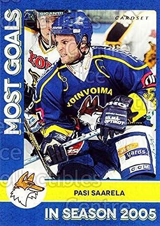 Amazon.com: (CI) Pasi Saarela Hockey Card 2013-14 Finnish ...