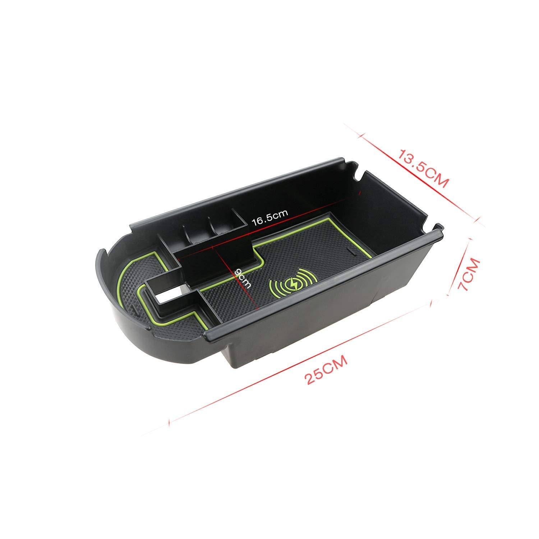 LFOTPP Handy kabelloses Laden Zentralarmlehne Aufbewahrungsbox Autozubeh/ör f/ür C-HR