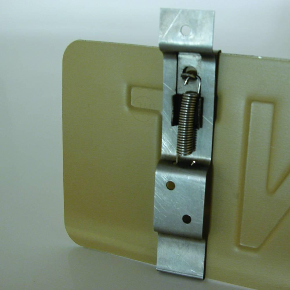Carpoint Pince pour plaque dimmatriculation 2 Pi/èces
