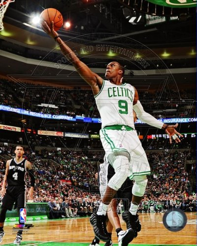 (NBA Rajon Rondo Boston Celtics 2012-2013 Action Photo #2 8x10)