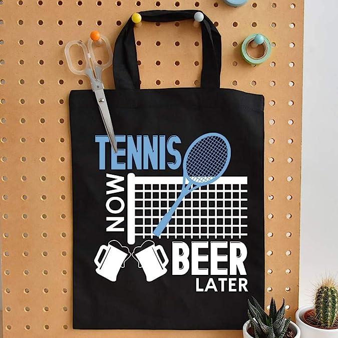 Amazon.com: Bolsas de tenis y cerveza de lona de Tennis Now ...
