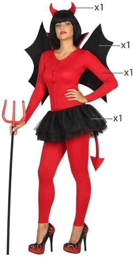 Manzana proibita – Disfraz Carnaval Halloween vestido Diavola ...