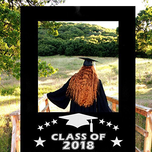 Dpist 2018 Graduation Photo Booth Props Picture Frame Cutouts