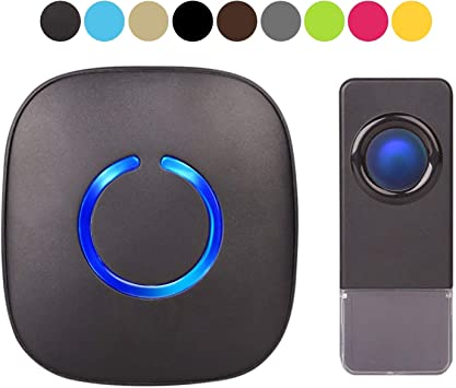 2017 Modern Door Bell w//Extra Loud Chimes Adjustable Volume For Home and Office