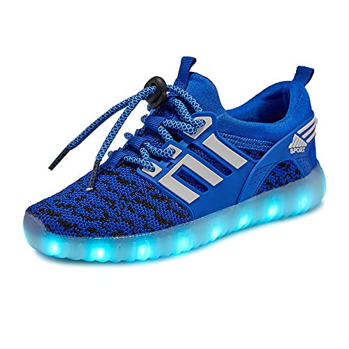 Amazon.com | MIKA HOM LED Light Up Shoes for Kids Multi-Color LED Lighting Shoes with USB Charging for Little Kid/Big Kid | Sneakers