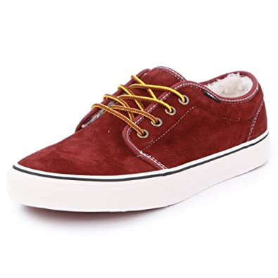 aa02cb144b Vans Scotchgard Fleece 106 Vulcanized VHNA45 Mens Suede Laced Trainers Wine  - 10  Amazon.co.uk  Shoes   Bags
