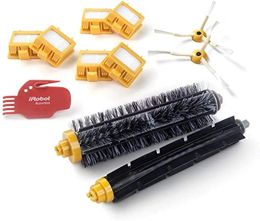 4503462 Robot aspirador Filtro y cepillo accesorio y suministro de vacío - Accesorio para aspiradora (Robot vacuum, Filtro y cepillo, Negro, Rojo, Amarillo, 6 pieza(s), 1 brush cleaning tool): Amazon.es: Hogar