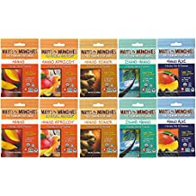 Matt's Munchies Premium Organic Fruit Snack Mango Variety Pack of 10
