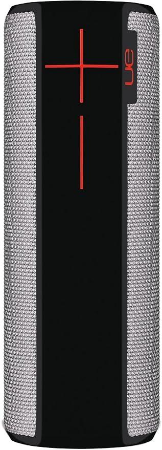 Ultimate Ears Boom 2 Tragbarer Bluetooth Lautsprecher 360 Sound Wasserdicht Und Stoßfest App Navigation Kann Mit Weiteren Lautsprechern Verbunden Werden 15 Stunden Akkulaufzeit Grau Schwarz Audio Hifi