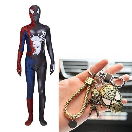 PIAOL Simbiosis De Veneno Spiderman Disfraz Halloween ...
