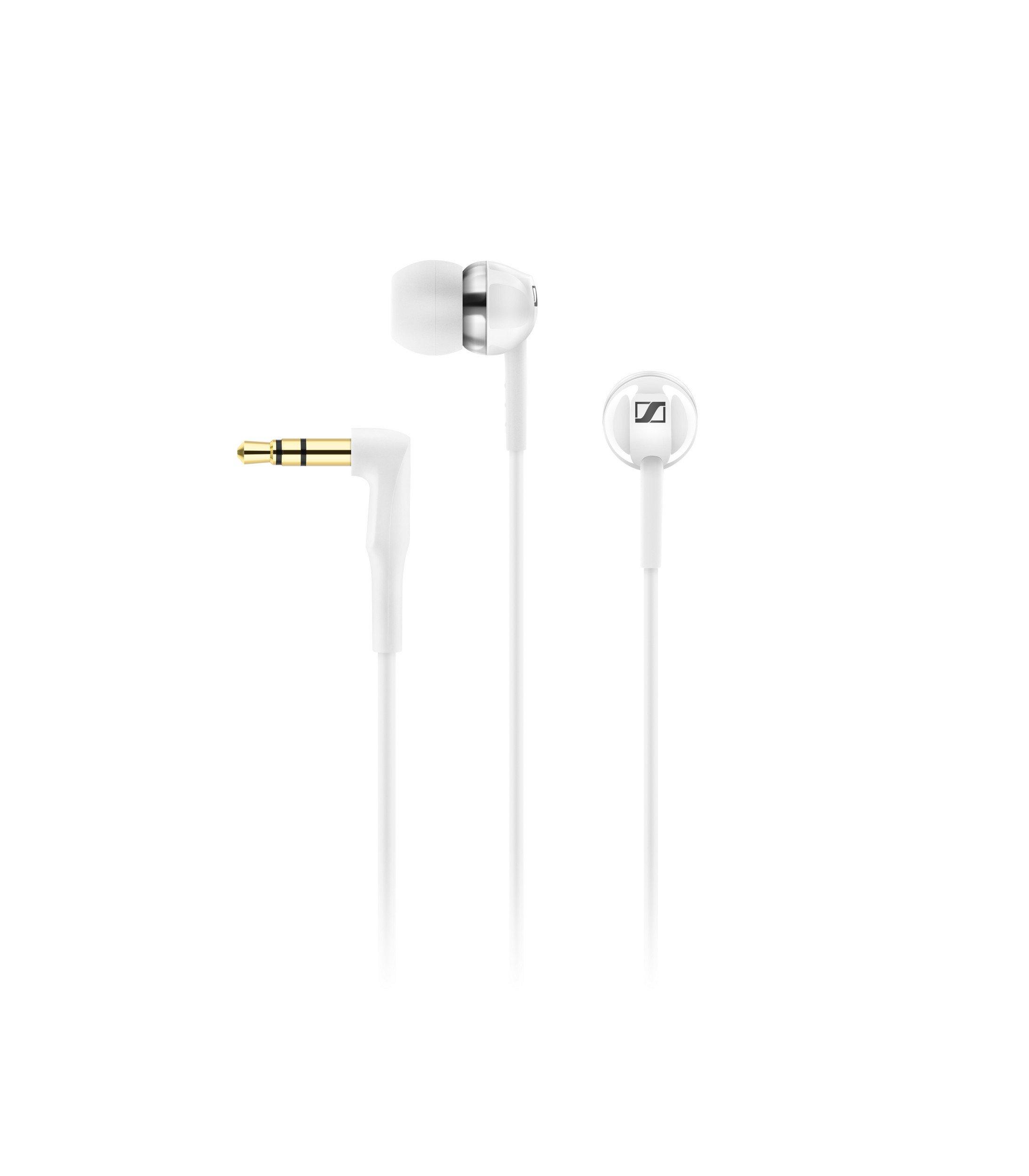 Sennheiser CX 1.00 White In-Ear Canal Headphone