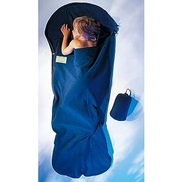 Cocoon KidBag - Sacos de dormir Niños - Fleece azul 2018: Amazon.es: Deportes y aire libre