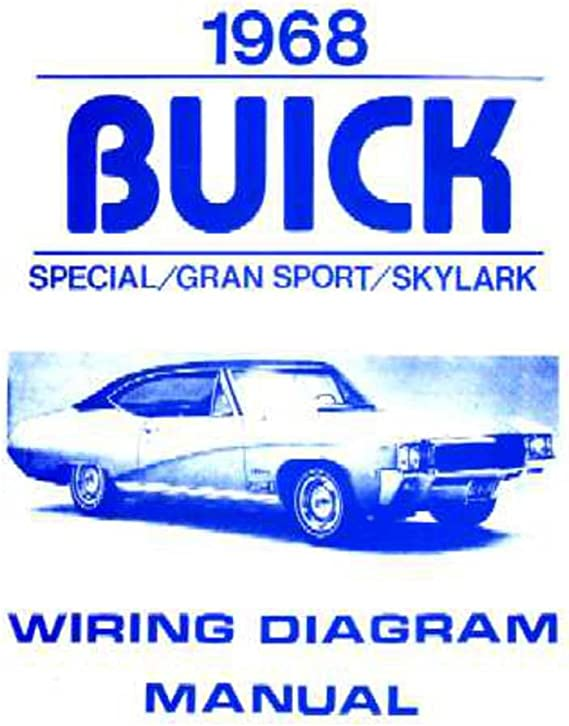 Amazon.com: bishko automotive literature 1968 Buick Gran Sport Skylark  Special Electrical Wiring Diagram Schematic Manual: AutomotiveAmazon.com