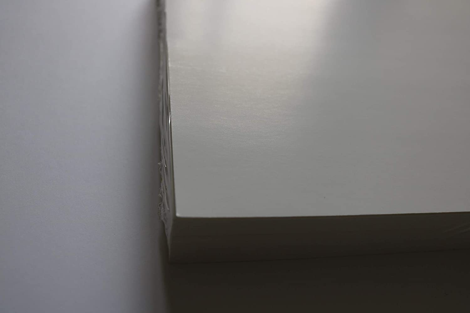 White Colour 10PT Thickness 50 Sheets 8.5 X 11 CARDSTOCK Cover Coated 1 Side SEMI-Gloss Finish 190 GSM
