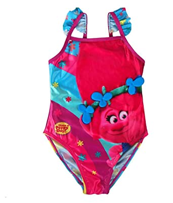 8f0b1019ead1e Image Unavailable. Image not available for. Color: Trolle DreamWorks Kids Swimsuit  Trolls|Poppy ...