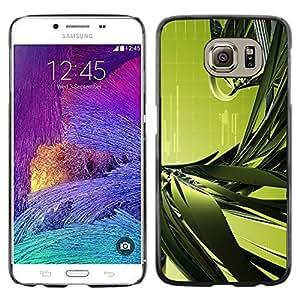 Stuss Case / Funda Carcasa protectora - Green Leaf Strands - Samsung Galaxy S6