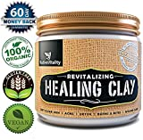 Aztec Clay Mask for Hair Instant Results - Maximum Strength! - Revitalizing Bentonite Healing Clay for Clear, Soft Skin - Free Home Remedies & Masks Ebook