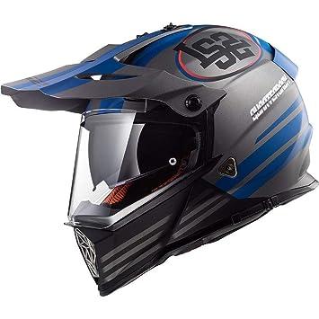 low priced authentic quality innovative design LS2 MX436 Pioneer Quarterback Motorbike Motorcycle Motocross DVS ...
