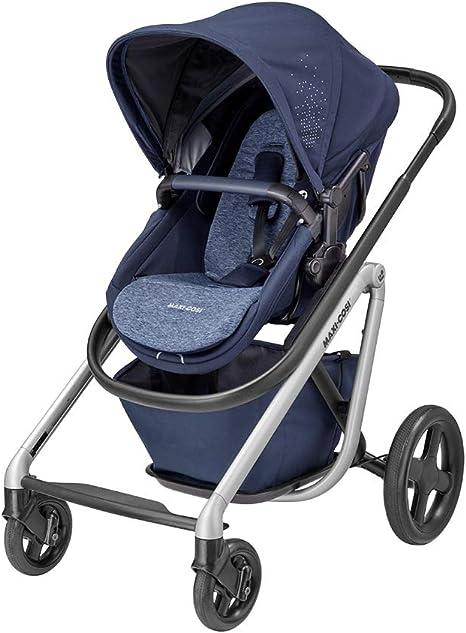 Opinión sobre Maxi-Cosi Lila Cómoda silla de paseo, apta desde el primer día, sistema de viaje con moisés, 0 meses - 3.5 años, 0 - 15 kg, Nomad Blue (azul), 1311243110