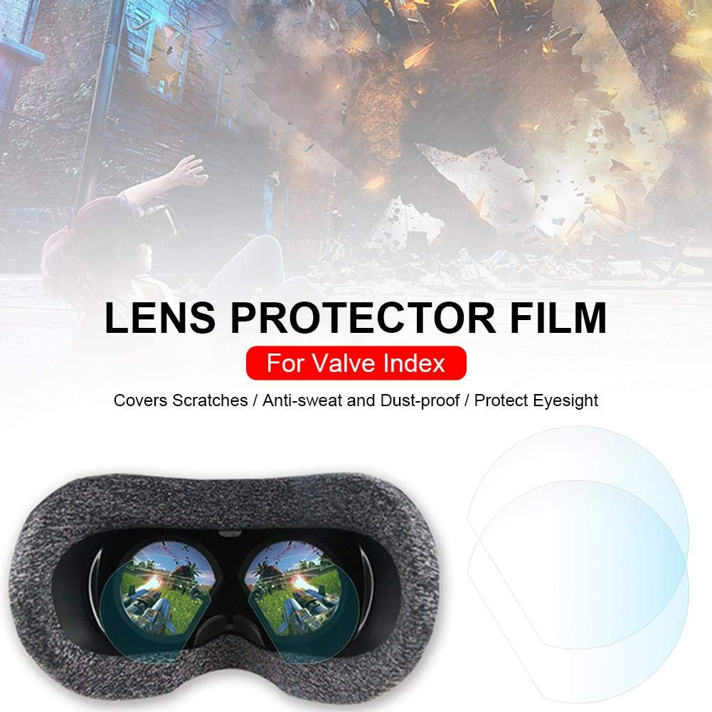 TPU Blue-Yan Lens Protector HD Clear Film Lens Protector para Valve Index Virtual Reality